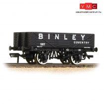 Branchline 37-074 5 Plank Wagon Wooden Floor 'Binley' Black