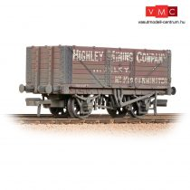 Branchline 37-093 7 Plank Wagon End Door 'Highley Mining Company Ltd' Red - Weathered
