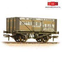 Branchline 37-114 7 Plank Wagon Fixed End 'Baldwin' Grey - Weathered
