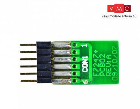 Branchline 379-428 6 Pin Decoder Blanking Plug (Straight) (x5)