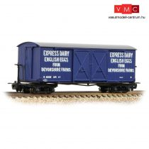 Branchline 393-029 Bogie Covered Goods Wagon 'Express Dairy Company' Blue