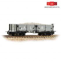 Branchline 393-052A Open Bogie Wagon Ashover L. R. Grey - Includes Wagon Load