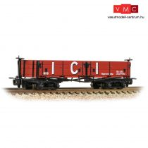 Branchline 393-056 Open Bogie Wagon 'ICI' Red