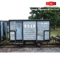 Branchline 393-100 RNAD Enclosed-End Brake Van RNAD Grey