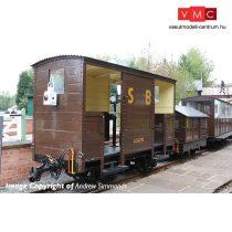 Branchline 393-101 RNAD Open-End Brake Van Statfold Barn Railway Brown