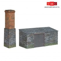 Branchline 44-0106 Narrow Gauge Slate Built Boiler House and Chimney