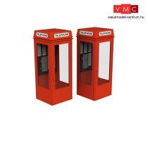 Branchline 44-0503 K8 phone boxes (x2)