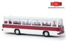 Brekina 59650 Ikarus 255.71 autóbusz, fehér/bordó (H0)