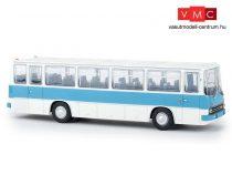 Brekina 59651 Ikarus 255.71 autóbusz, fehér/pasztellkék (H0)