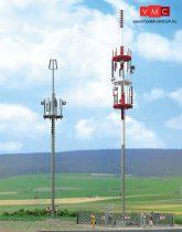 Busch 1021 Mobiltelefon torony (2 db) (H0 )