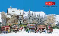 Busch 1059 Karácsonyi vásár készlet (H0)