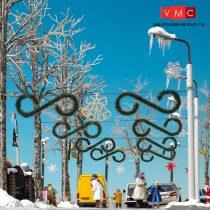 Busch 1061 Karácsonyi köztéri díszek (H0)