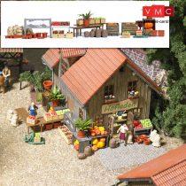 Busch 1075 Vidéki bolt kiegészítők (H0)