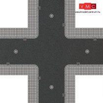 Busch 1104 Útburkolat: városi út járdával, aszfaltozott (H0)