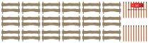 Busch 1120 Hófogó kerítés és hóoszlopok (H0) - LC