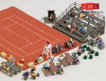 Busch 1142 Székek, padok, asztalok és lelátó sportpályákhoz (H0)
