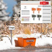 Busch 1167 Téli készlet közutakhoz (H0)