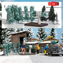 Busch 1182 Karácsonyfaárusító hely (H0)