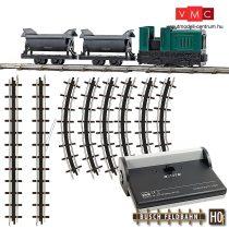 Busch 12000 Gazdasági vasút kezdőkészlet, csillékkel (H0f)
