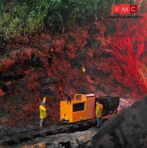 Busch 12020 Bányavasúti kezdőkészlet: B 360 bányamozdony 2 db bányacsillével (H0f)
