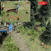 Busch 1203 Páfrányok, gombák - építőkészlet (H0)