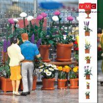 Busch 1209 Virágcserép készlet (H0)