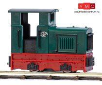 Busch 12113 Gazdasági vasúti Gmeindner 15/18 dízelmozdony, fedett vezetőállással (H0f)