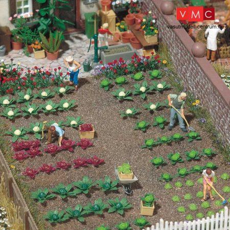 Busch 1213 Káposzta (24 db), saláta (16 db), brokkoli (8 db) - építőkészlet (H0)