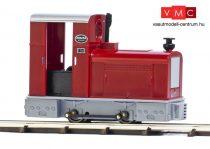 Busch 12131 Dízelmozdony Deutz OMZ 122 F gazdasági vasúthoz, szürke/piros (GV) (H0f)