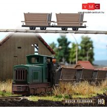 Busch 12201 Tőzegszállító lórék (2 db) gazdasági vasúthoz (H0f)