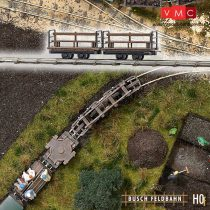 Busch 12202 Személyszállító lórék (2 db) gazdasági vasúthoz (H0f)