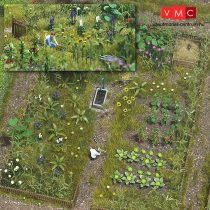 Busch 1223 Zöldségeskert - építőkészlet (H0)