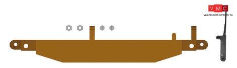 Busch 12362 Gazdasági vasút: rögzítés a váltóállítóműhöz, jobbos (H0f)