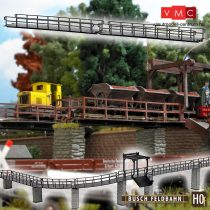 Busch 12385 Egyenes híd (2 db) gazdasági vasúthoz (H0f)