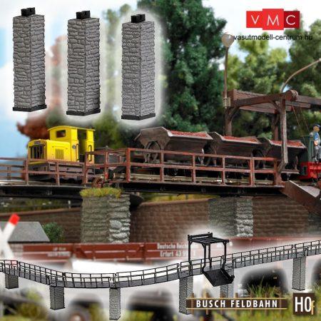 Busch 12388 Pillérek gazdasági vasúthoz (3 db) (H0f)