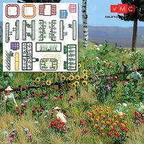 Busch 1258 Réti virágok és növények - építőkészlet (H0)