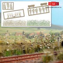 Busch 1260 Burjánzó növényzet - építőkészlet (H0)