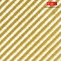 Busch 1341 Fűcsíkok - kiszáradt fű - 148 x 105 mm (H0)