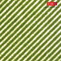 Busch 1342 Fűcsíkok - tavaszi fű - 148 x 105 mm (H0)