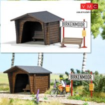 Busch 1463 Vasúti megállóhely, Birkenmoor - LC (H0)