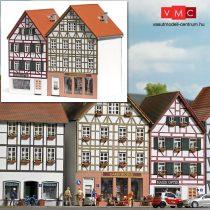Busch 1537 Favázas emeletes városi sorház, Buschheide - LC (H0)