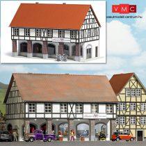 Busch 1539 Favázas emeletes városi lakóház árkáddal - LC (H0)