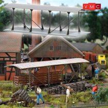 Busch 1543 Fedett mozdony és lóré beálló gazdasági vasúthoz (H0)