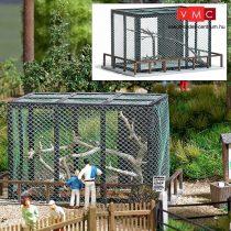 Busch 1583 Vadasparki madárreptető ketrec H0