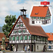 Busch 1598 Favázas városháza - Buscheide, valódi fából (H0)