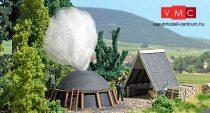 Busch 1678 Faszénégető boksa erdei menedékházzal (H0)