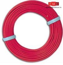 Busch 1790 Vezeték, piros (10 méter) (x)