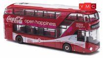 Busch 200120327 Routemaster London, városi emeletes busz - Coca Cola reklámmal (N)