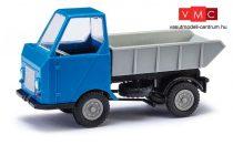 Busch 210003501 Multicar M22 billencs, szürke/kék (H0)