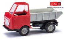 Busch 210003503 Multicar M22 billencs, szürke/piros (H0)